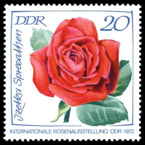 DDR Briefmarke Rose Izetka Spreeathen Foto Wikipedia